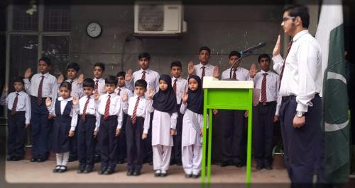 Oath Taking Ceremony Of Head Boy, Head Girl & Prefects 2017